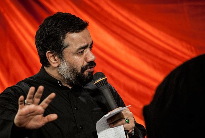 دانلود نوحه جدید حاج محمود کریمی به نام حسین من بیا و این دل شکسته را بخر